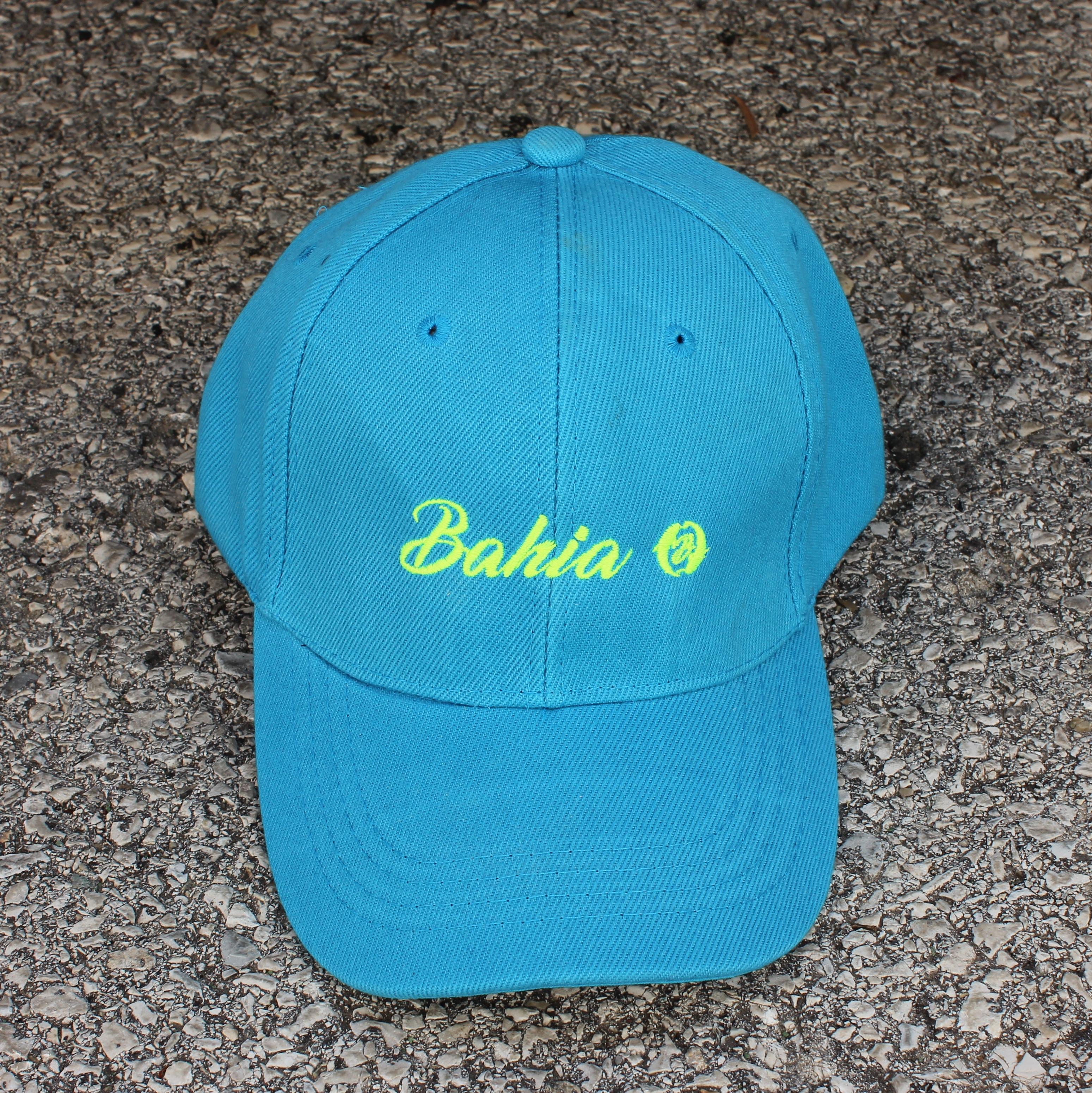 CASQUETTE Bahia Bleu Jaune