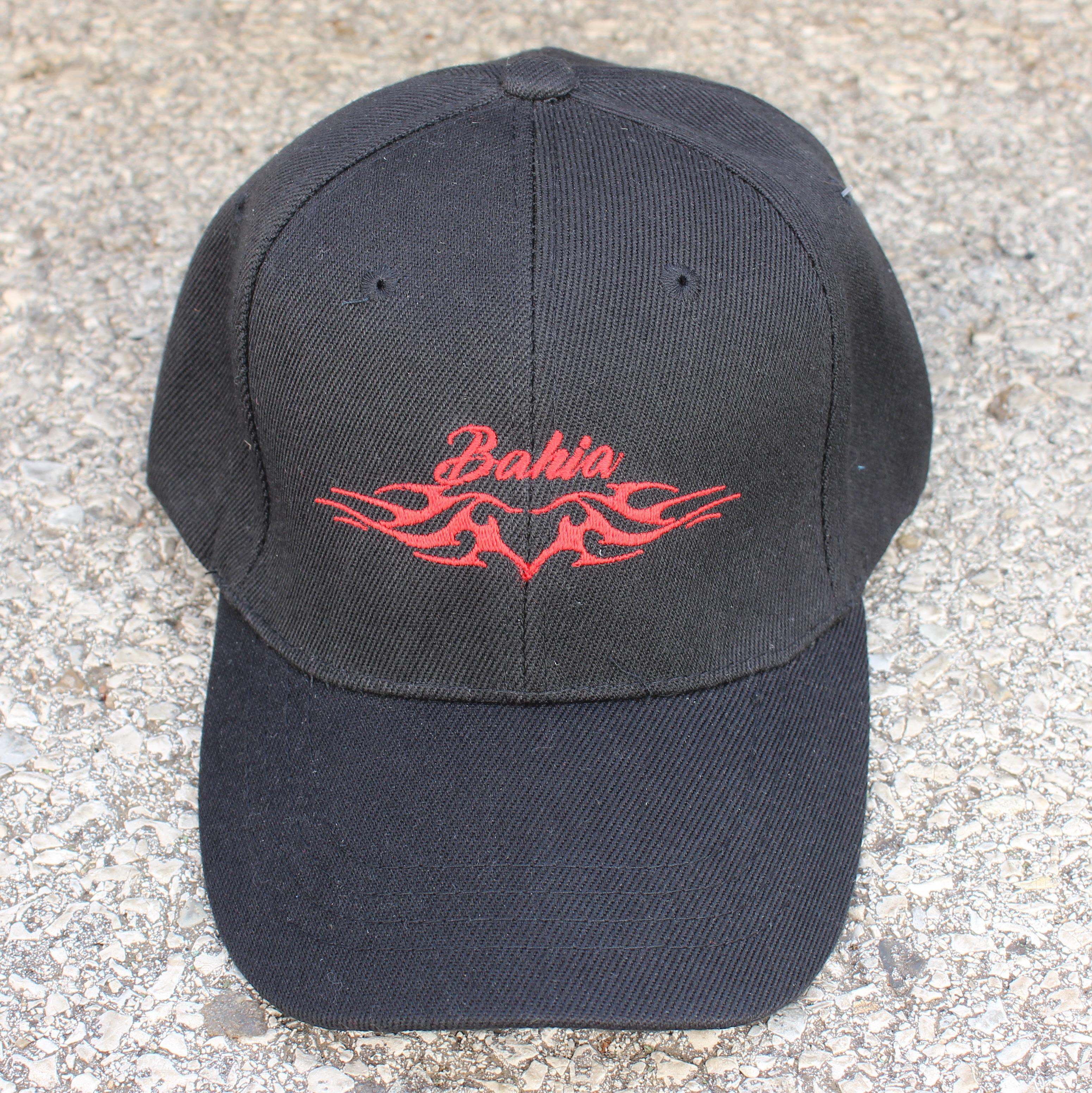 CASQUETTE Bahia Noir Rouge