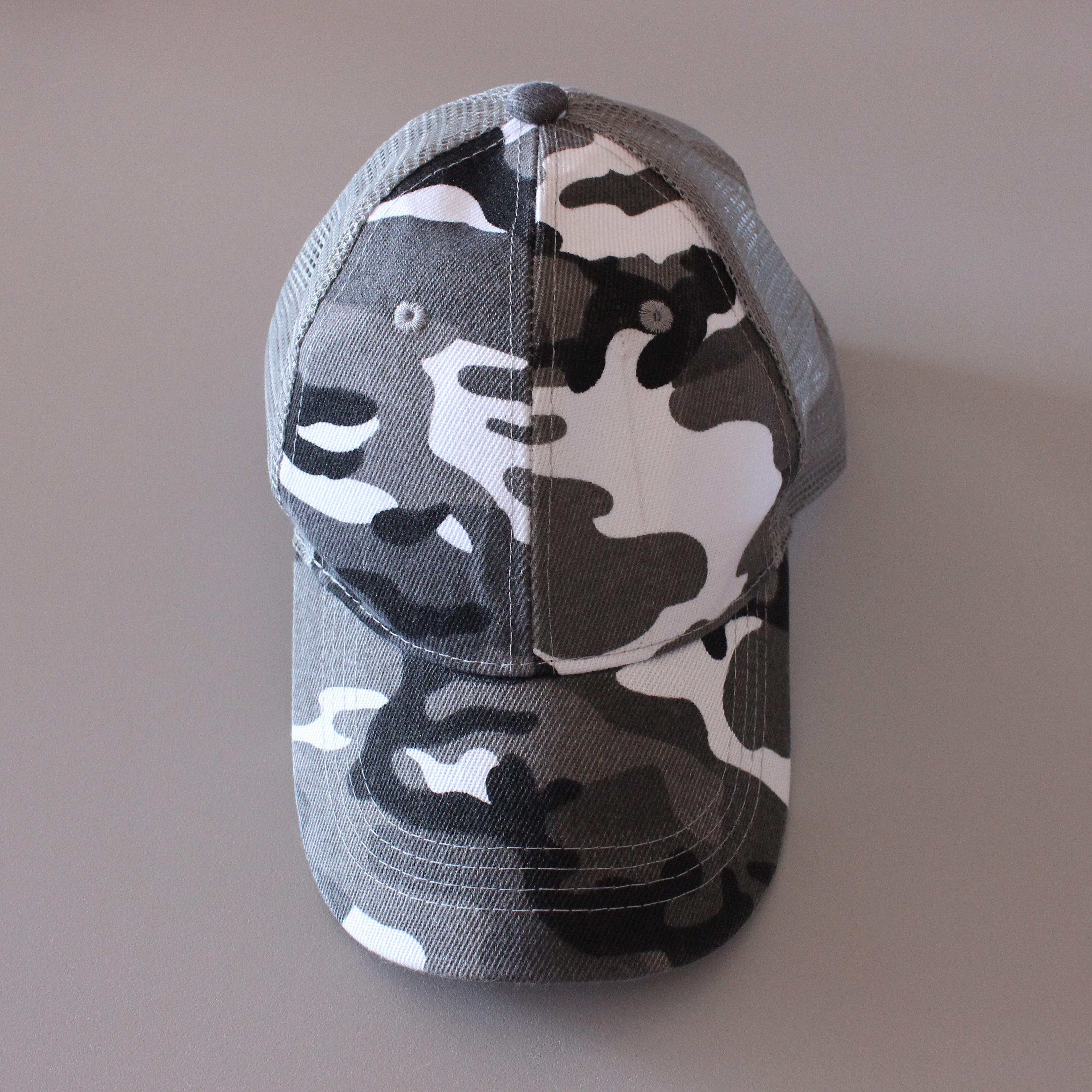 CASQUETTE Militaire Gris