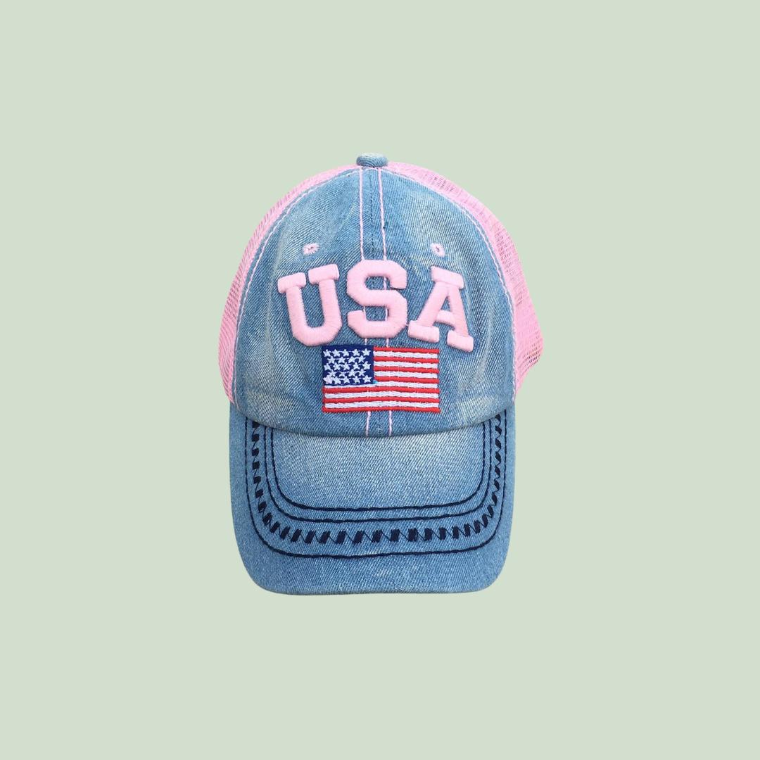 CASQUETTE USA Jeans
